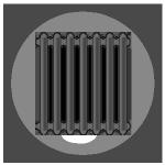 bullets-radiator